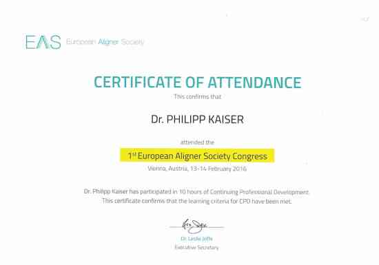 Aligner Society Congress